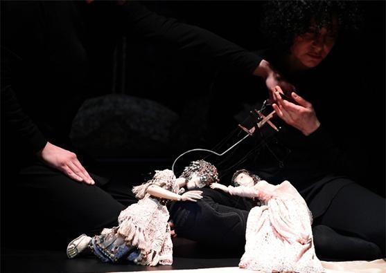 «Leyli və Məcnun»un marionet variantı - Foto 0