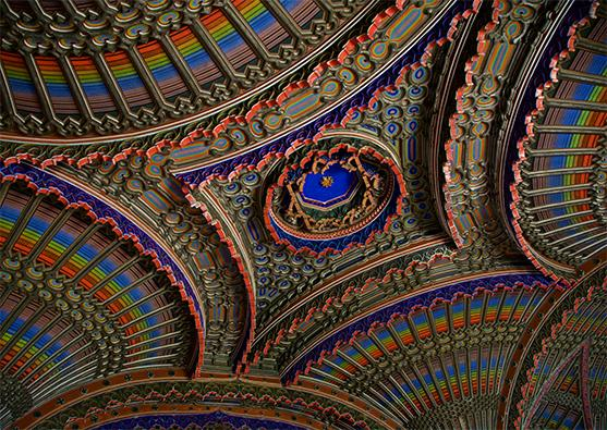 The 10 most beautiful ceilings - Foto 1