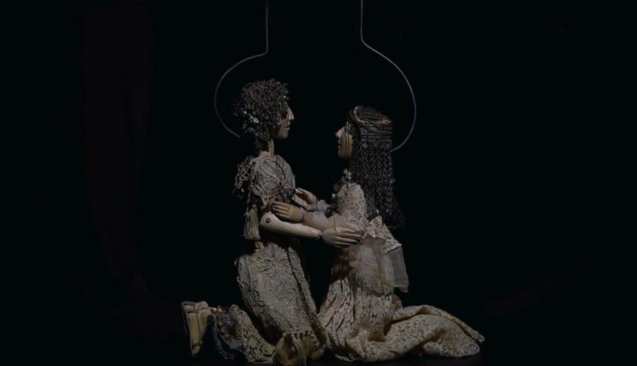 «Leyli və Məcnun»un marionet variantı
