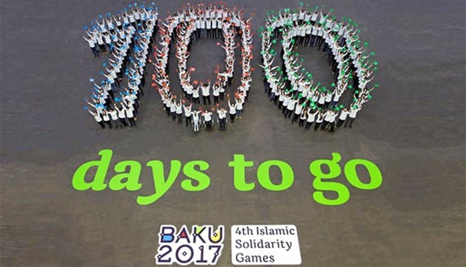 100 days to go celebrations